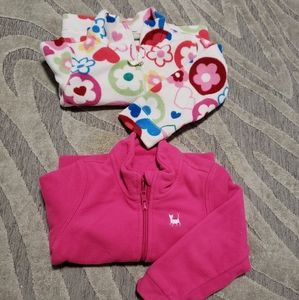 Two toddler sweaters